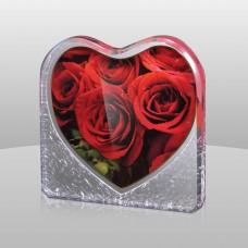 Elegant Rose Plaque